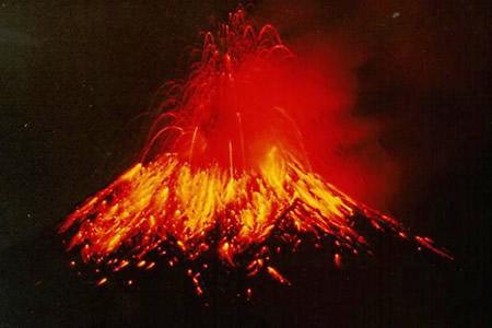 عکس کاور آتشفشان