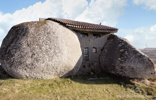 cover stone house