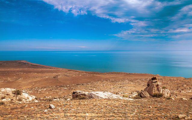عکس کاور دریاچه کاسپیتن