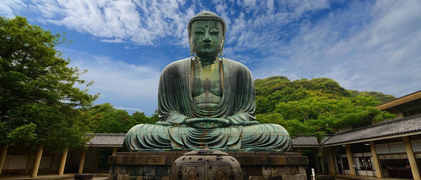 عکس کاور 9 تندیس شناخته شده بودا در سرتاسر جهان