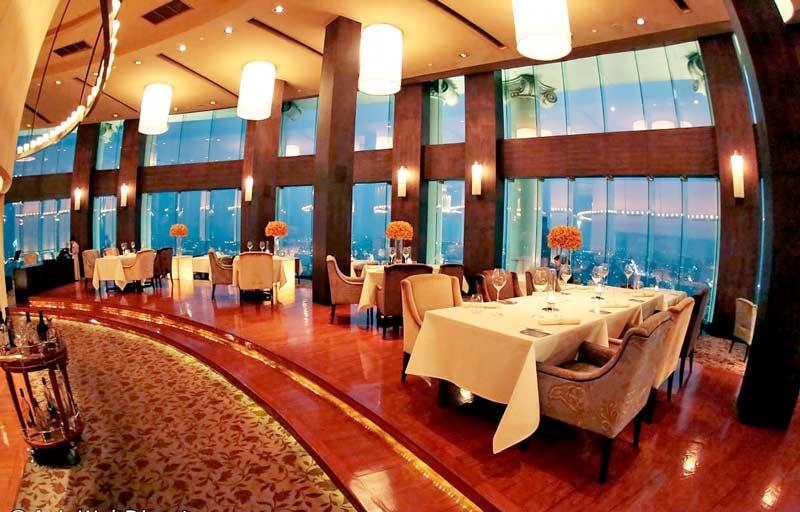 رستوران مزالونا در هتل لبوا