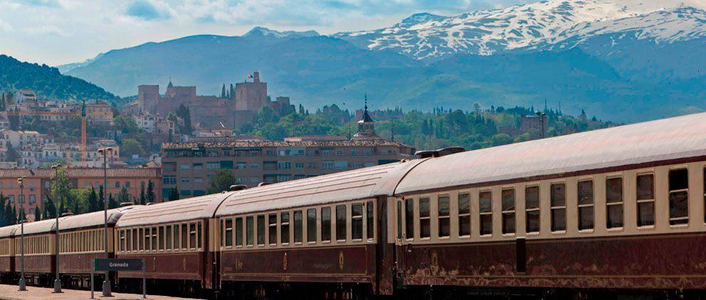 cover luxury train
