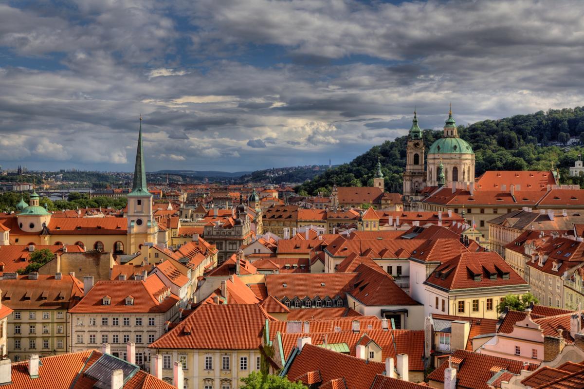 cover pargue city in czech republic