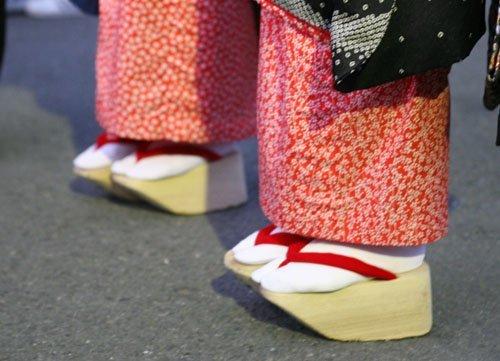 cover strange shoes